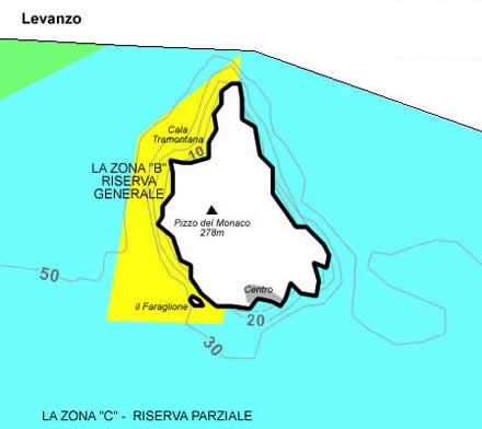 Levanzo yacht charter boat rental aegadian islands