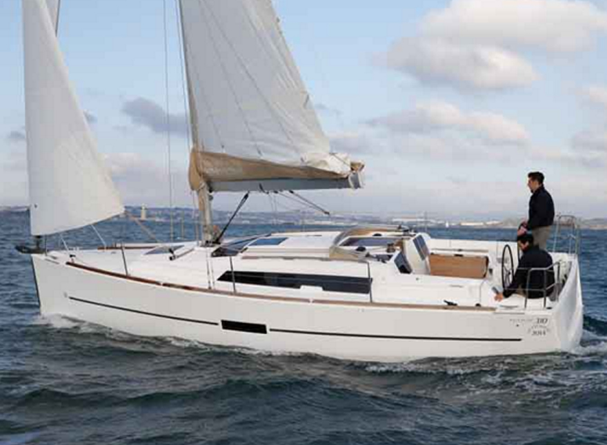 Sailboat Charter Rental - Dufour 310 holiday Sicily Palermo Aegadian Portorosa Aeolian Islands